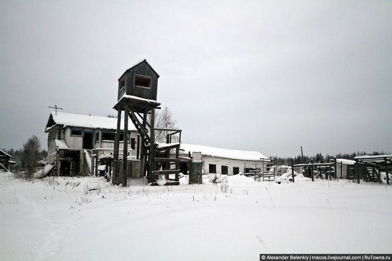 Abandoned colony for criminals, Russia view 17