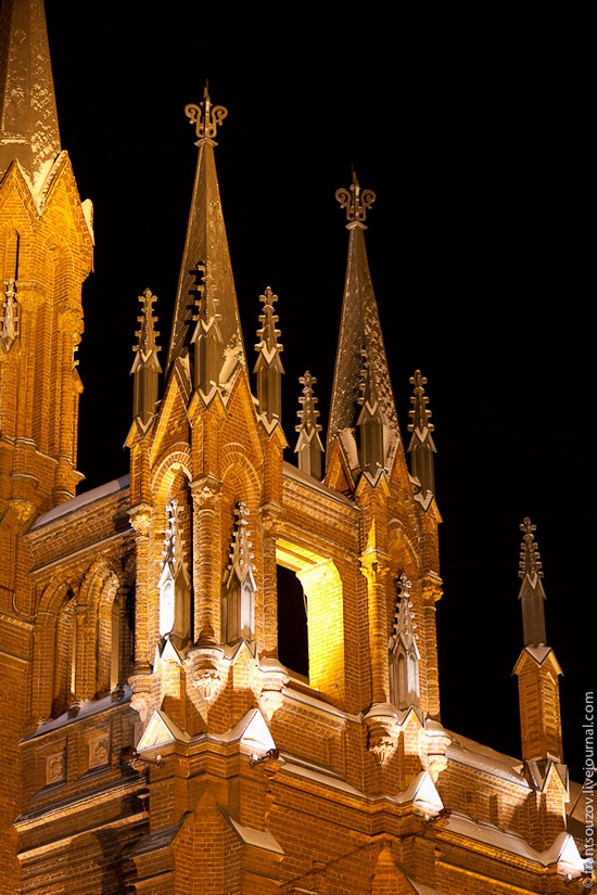 Catholic Cathedral, Moscow, Russia view 10
