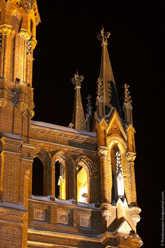 Catholic Cathedral, Moscow, Russia view 2