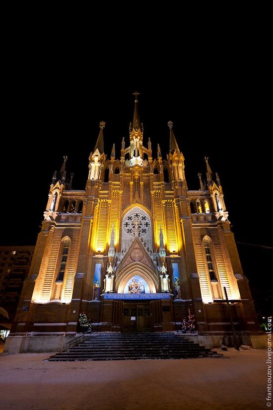 Catholic Cathedral, Moscow, Russia view 3
