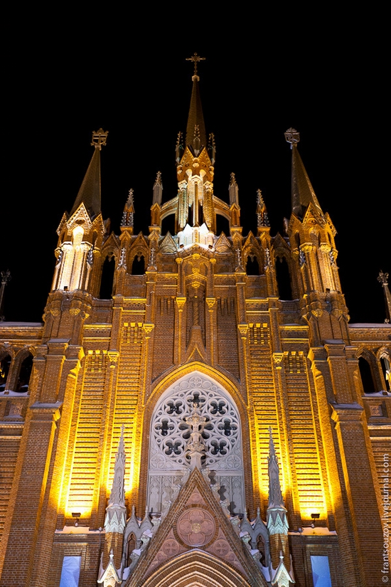 Catholic Cathedral, Moscow, Russia view 5