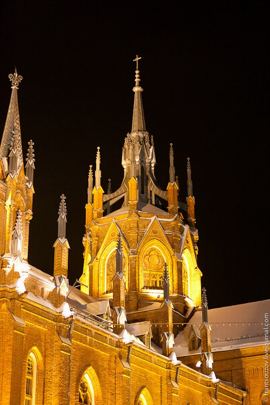 Catholic Cathedral, Moscow, Russia view 8