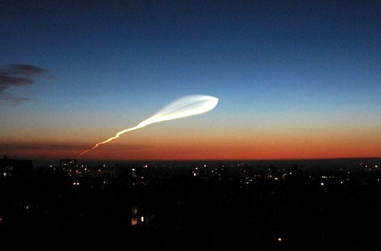 Russian space rocket launch view 9