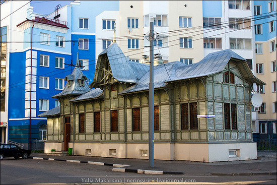 Yaroslavl city, Russia wooden architecture view 1