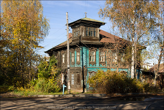 Yaroslavl city, Russia wooden architecture view 10