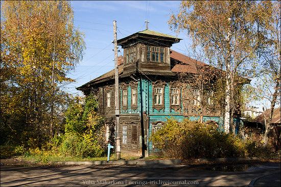 Yaroslavl city, Russia wooden architecture view 10
