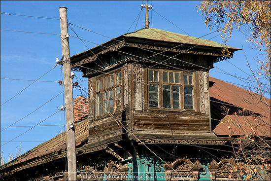 Yaroslavl city, Russia wooden architecture view 11