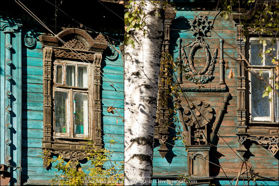 Yaroslavl city, Russia wooden architecture view 12