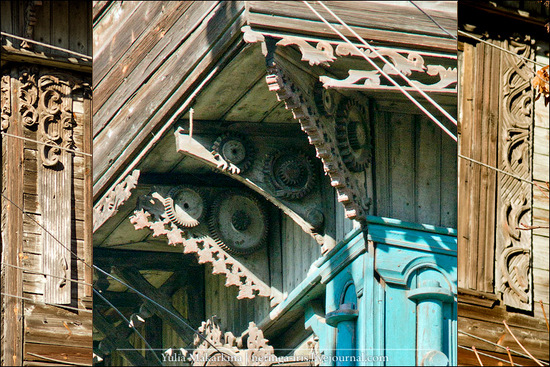 Yaroslavl city, Russia wooden architecture view 13