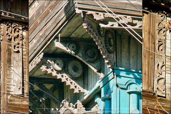 Yaroslavl city, Russia wooden architecture view 13