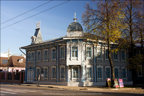 Yaroslavl city, Russia wooden architecture view 2