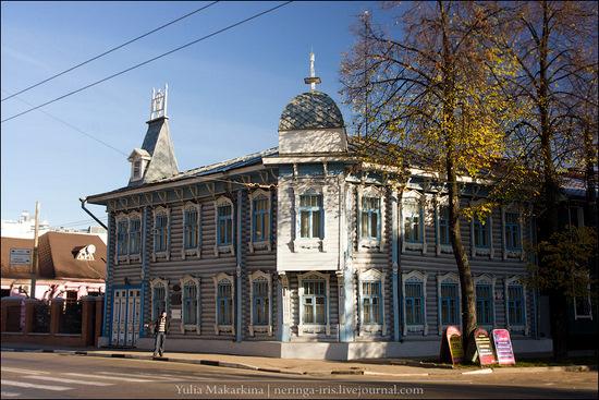 Yaroslavl city, Russia wooden architecture view 2