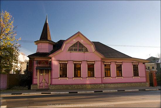 Yaroslavl city, Russia wooden architecture view 3