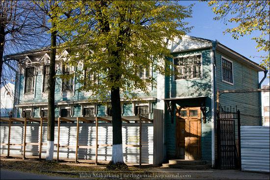 Yaroslavl city, Russia wooden architecture view 4