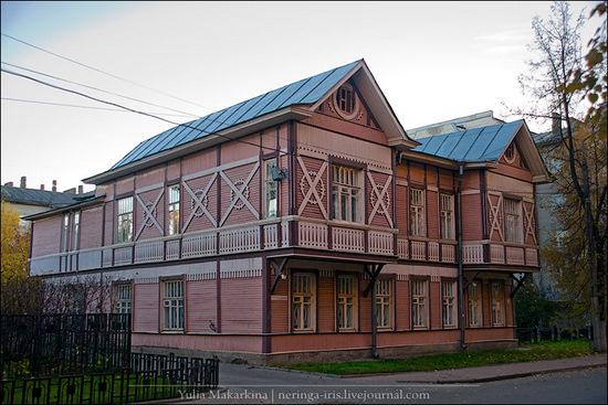 Yaroslavl city, Russia wooden architecture view 5