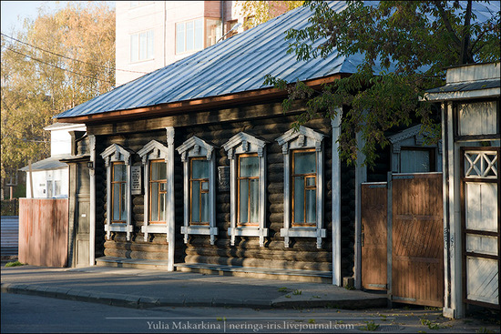 Yaroslavl city, Russia wooden architecture view 9