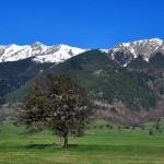 North Caucasus nature and life sceneries