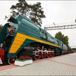 The museum of railway equipment of Novosibirsk oblast
