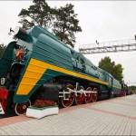 The museum of railway equipment of Novosibirsk oblast