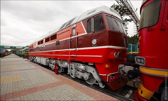 Novosibirsk museum of railway equipment view 10