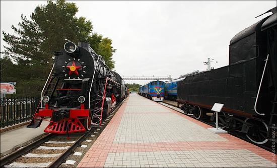 Novosibirsk museum of railway equipment view 2