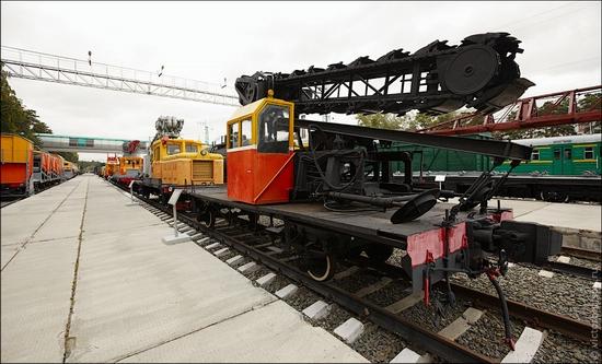 Novosibirsk museum of railway equipment view 3