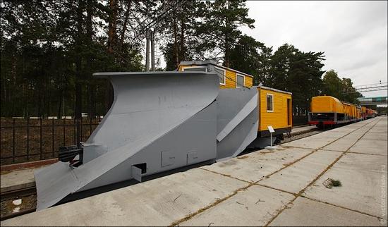 Novosibirsk museum of railway equipment view 5