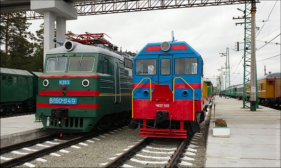 Novosibirsk museum of railway equipment view 6