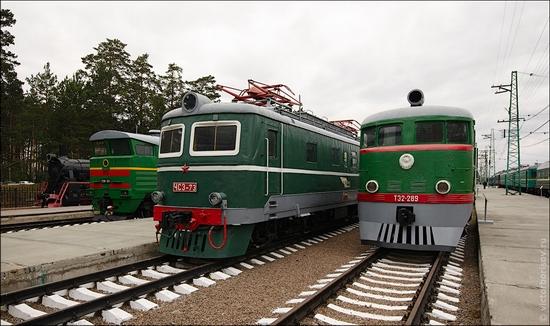 Novosibirsk museum of railway equipment view 7
