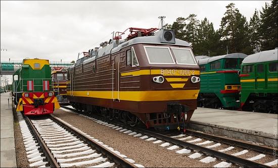 Novosibirsk museum of railway equipment view 8