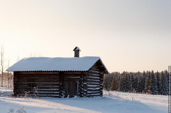 Perm krai, Russia abandoned village scenery 10