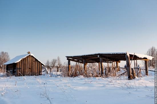 Perm krai, Russia abandoned village scenery 12