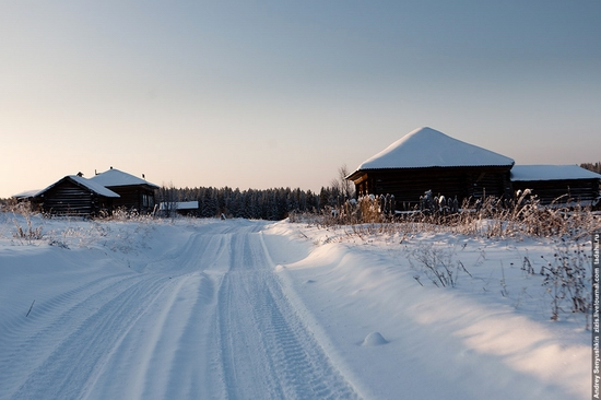 Perm krai, Russia abandoned village scenery 13