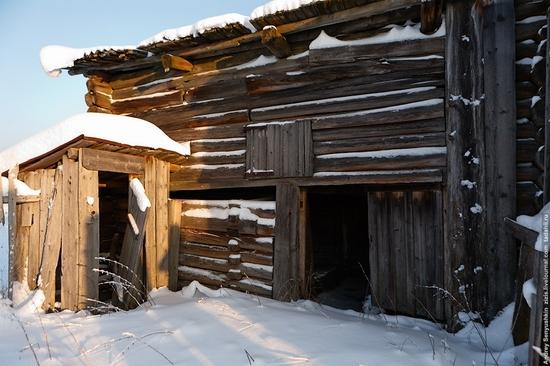 Perm krai, Russia abandoned village scenery 15