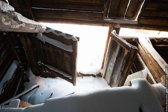 Perm krai, Russia abandoned village scenery 16