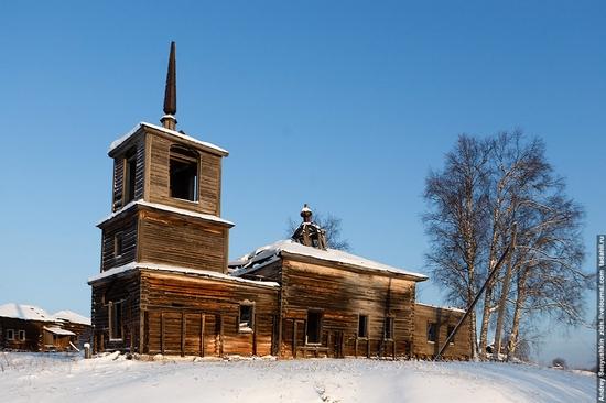 Perm krai, Russia abandoned village scenery 22