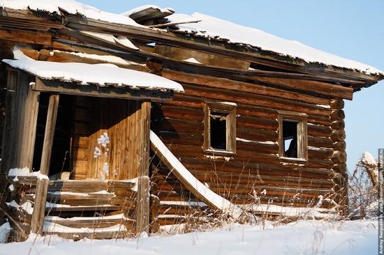 Perm krai, Russia abandoned village scenery 24