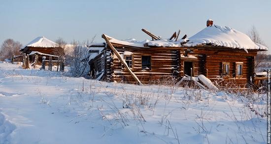 Perm krai, Russia abandoned village scenery 25