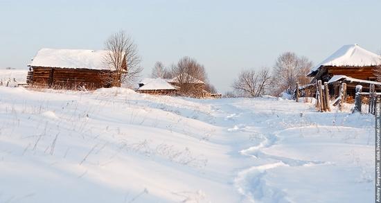 Perm krai, Russia abandoned village scenery 26