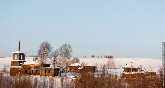 Perm krai, Russia abandoned village scenery 3