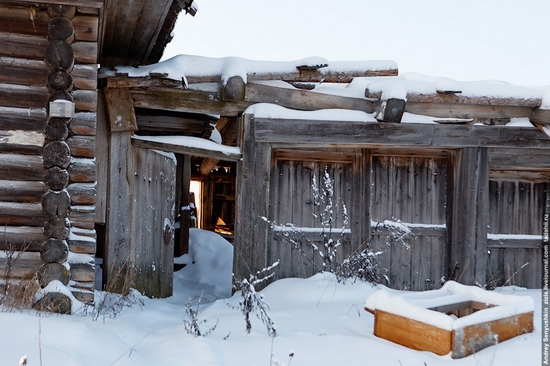 Perm krai, Russia abandoned village scenery 4