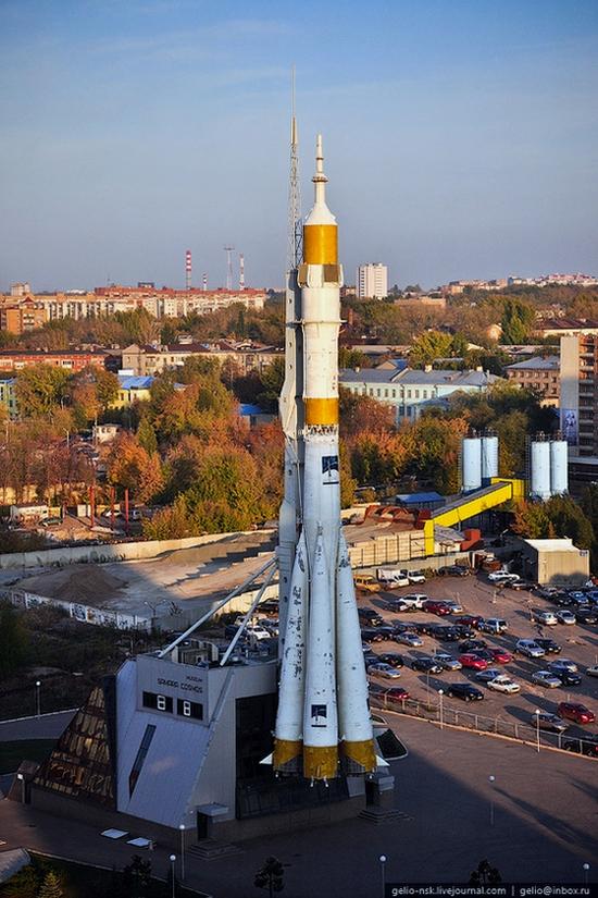 Samara city, Russia birds eye view 12