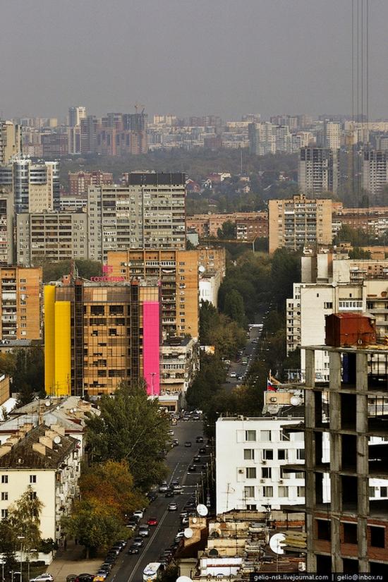 Samara city, Russia birds eye view 13