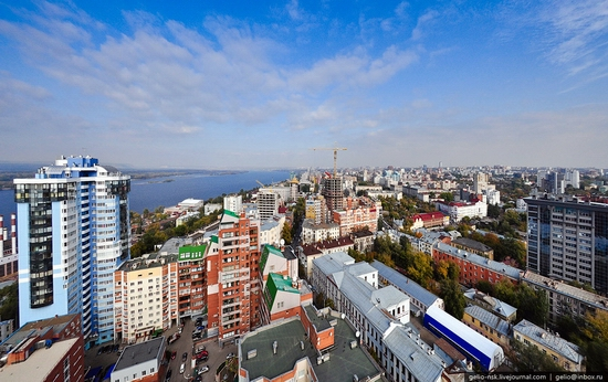 Samara city, Russia birds eye view 15
