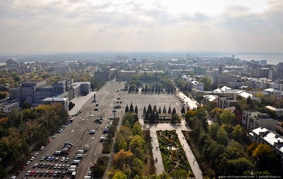 Samara city, Russia birds eye view 16