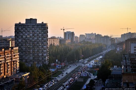 Samara city, Russia birds eye view 2