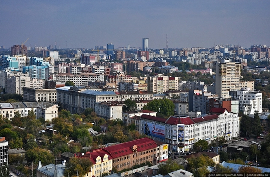 Samara city, Russia birds eye view 3