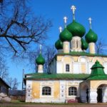 Ancient Russian town of Uglich