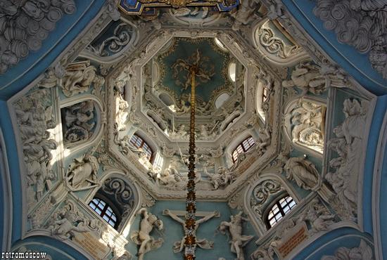 Znamenskaya church, Moscow oblast, Russia view 10