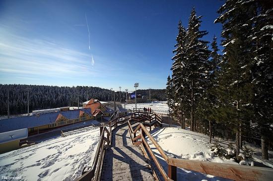 Khanty-Mansiysk, Russia biathlon championship 2011 view 3